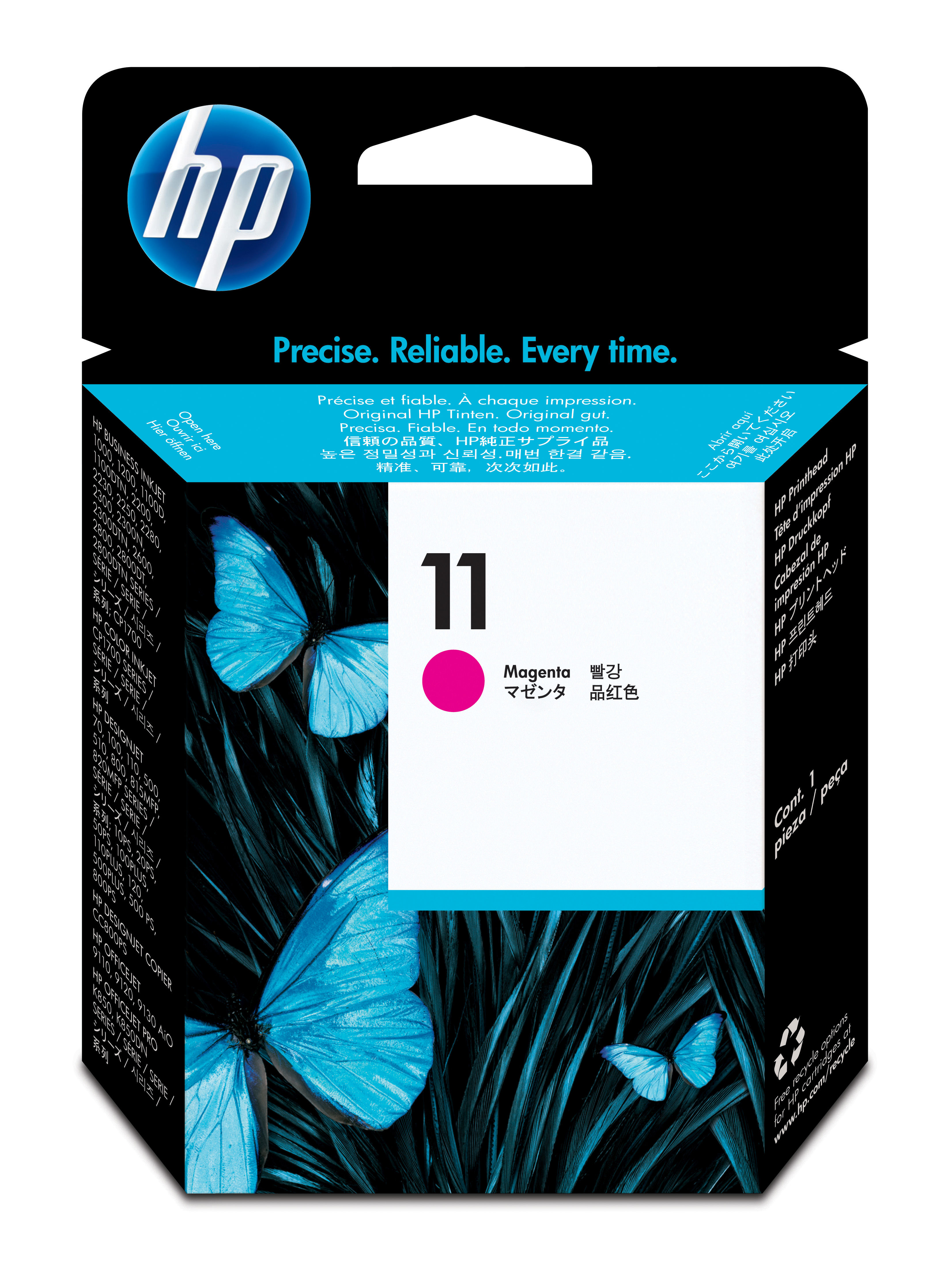 HP 11 Magenta Ink Printhead, C4812A