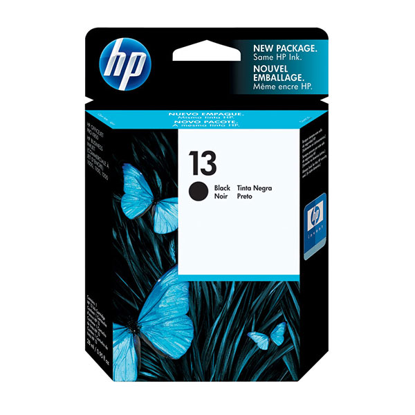 HP 13 Black Ink Cartridge C4814A