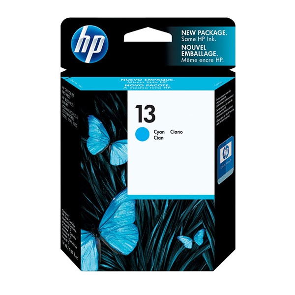 HP 13 Cyan Ink Cartridge C4815A