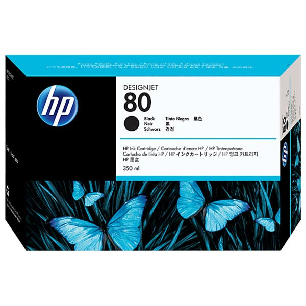 HP 80 Black High Yield Ink Cartridge C4871A