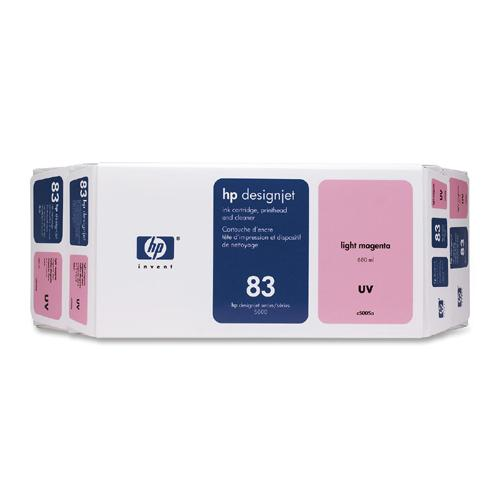HP 83 Light Magenta UV Ink Cartridge Value Pack C5005A