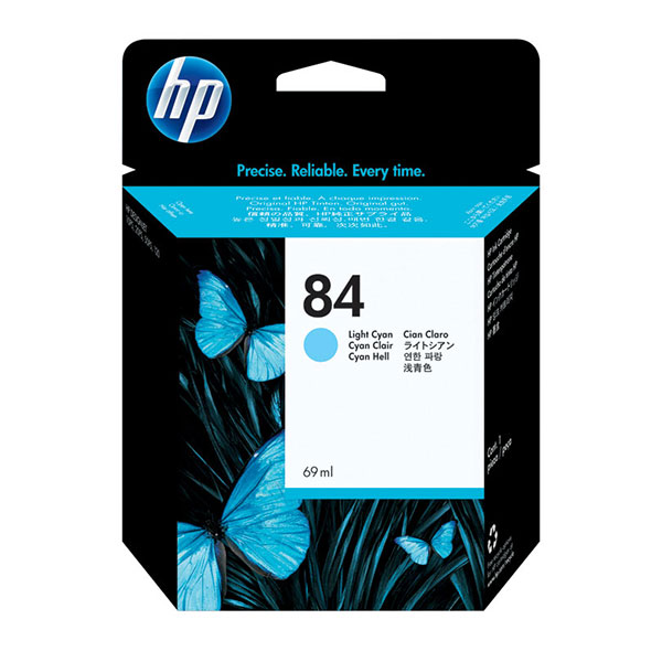 HP 84 Light Cyan Ink Cartridge C5017A