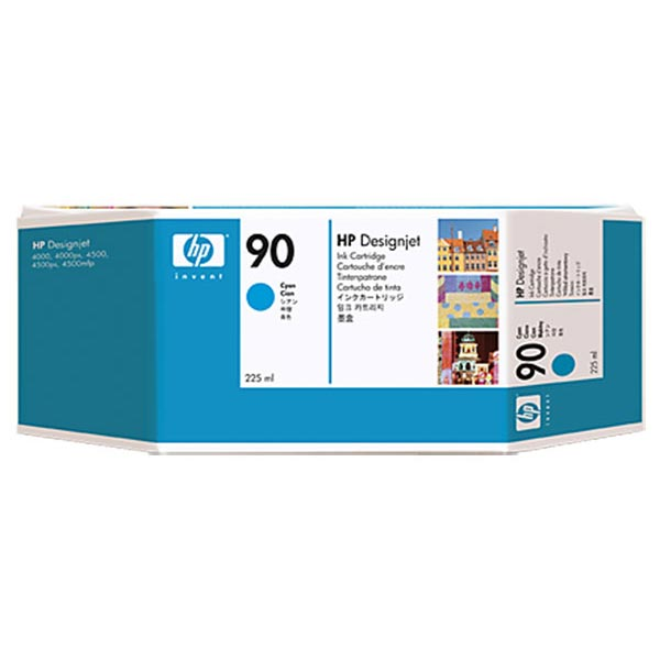 HP 90 Cyan Ink Cartridge C5060A