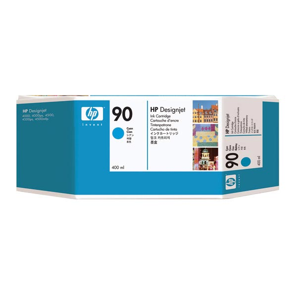 HP 90 Cyan High Yield Ink Cartridge C5061A