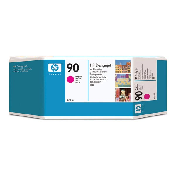 HP 90 Magenta High Yield Ink Cartridge C5063A
