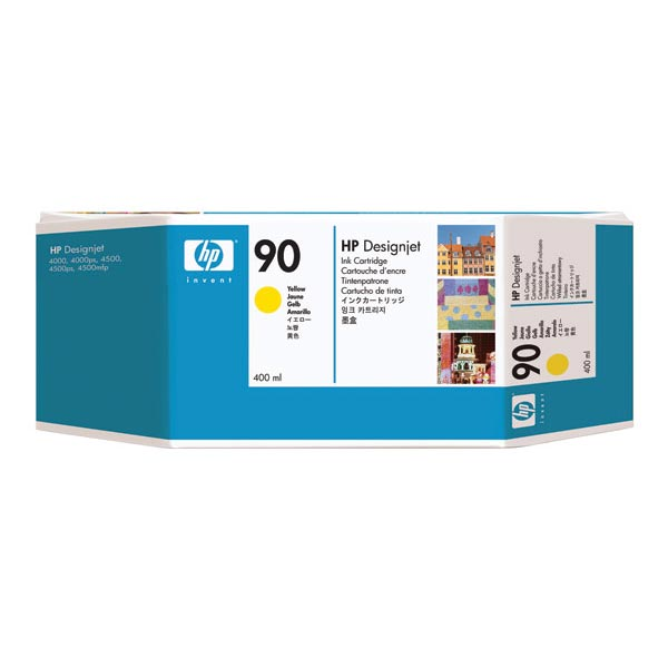 HP 90 Yellow High Yield Ink Cartridge C5065A