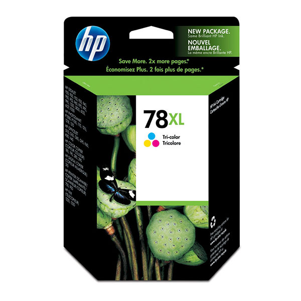 HP 78XL Tri-Color High Yield Ink Cartridge C6578AN