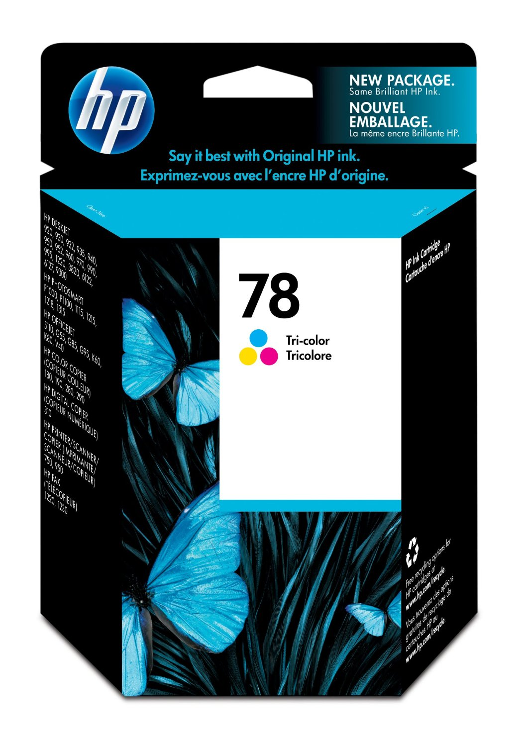 HP 78 Tricolor Ink Cartridge C6578DN