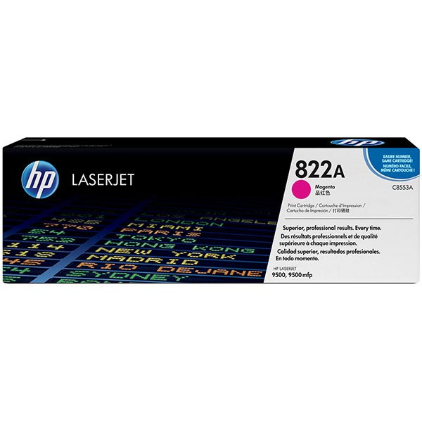 HP 822A Magenta Toner Cartridge C8553A