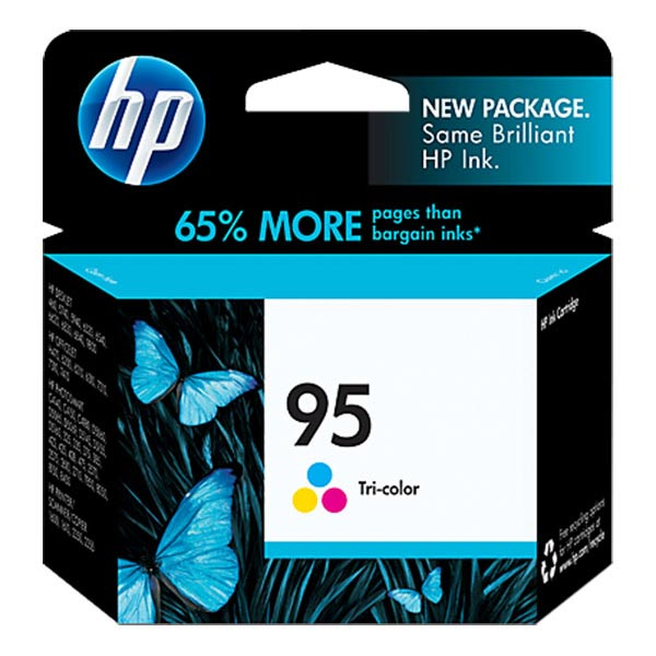 HP 95 Tri-Color Ink Cartridge C8766WN
