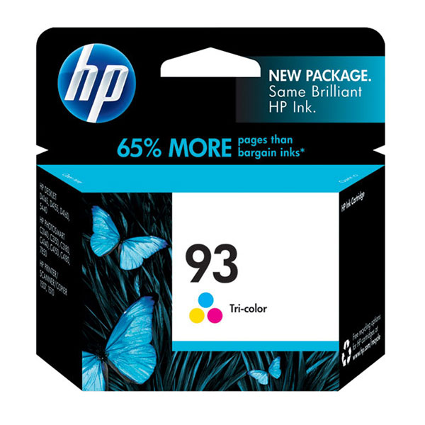 HP 93 Tri-Color Ink Cartridge C9361WN