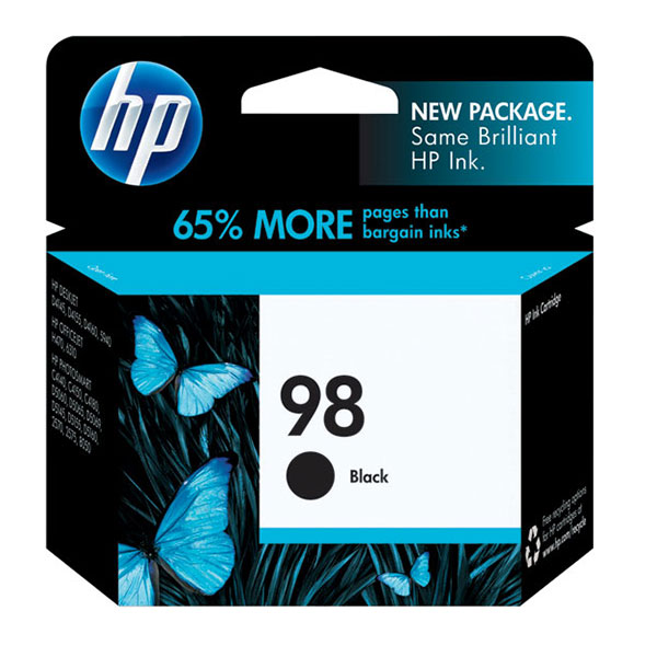 HP 98 Black Ink Cartridge C9364WN