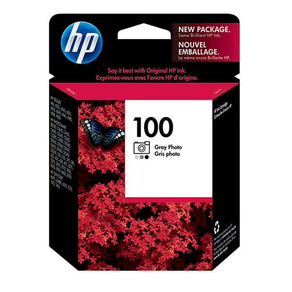 HP 100 Grey Ink Cartridge C9368AN