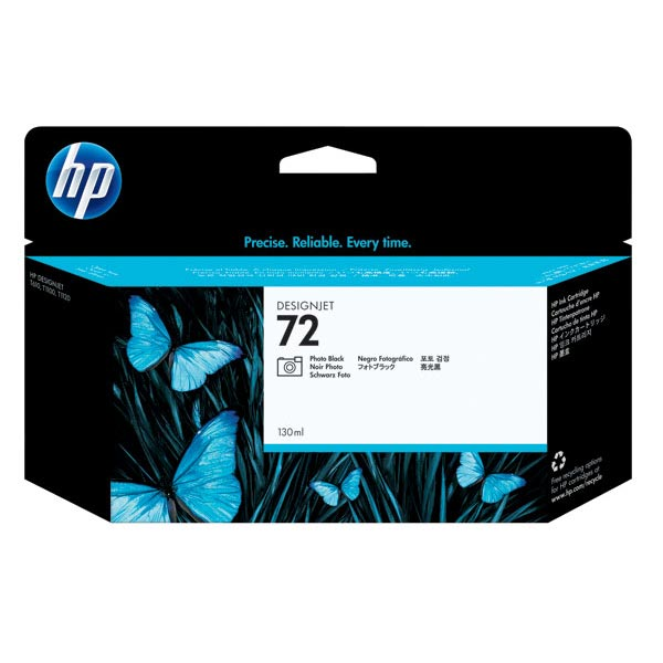 HP 72 Photo Black High Yield Ink Cartridge C9370A