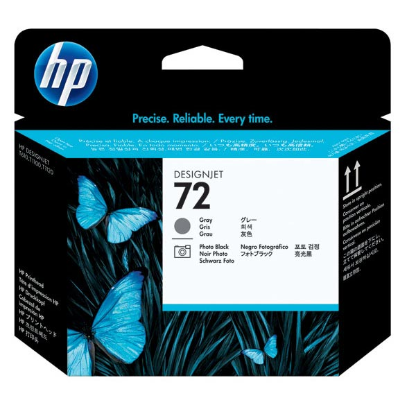 HP 72 Grey & Photo Black Printhead C9380A
