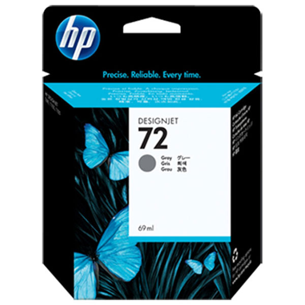 HP 72 Grey Ink Cartridge C9401A