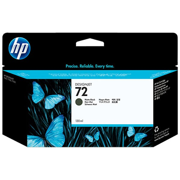 HP 72 Matte Black High Yield Ink Cartridge C9403A