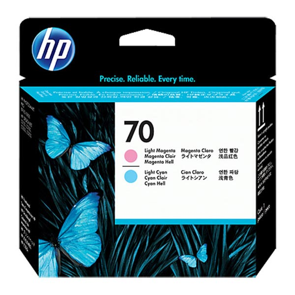HP 70 Light Magenta & Light Cyan Printhead  C9405A