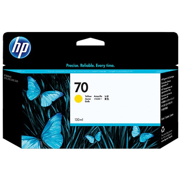 HP 70 Yellow Ink Cartridge C9454A