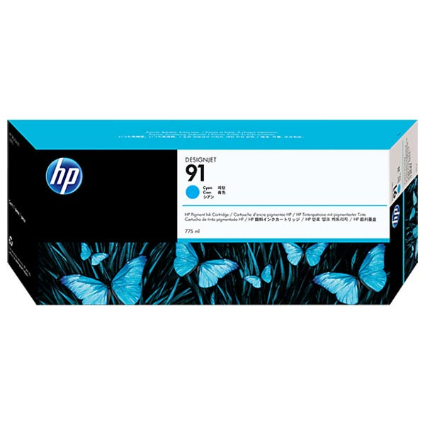 HP 91 Cyan Ink Cartridge C9467A