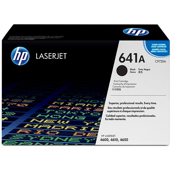 HP 641A Black Toner Cartridge C9720A