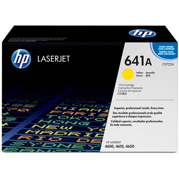 HP 641A Yellow Toner Cartridge C9722A