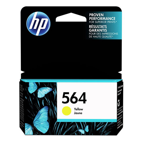 HP 564 Yellow Ink Cartridge CB320WN
