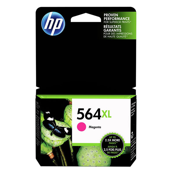 HP 564XL Magenta High Yield Ink Cartridge CB324WN