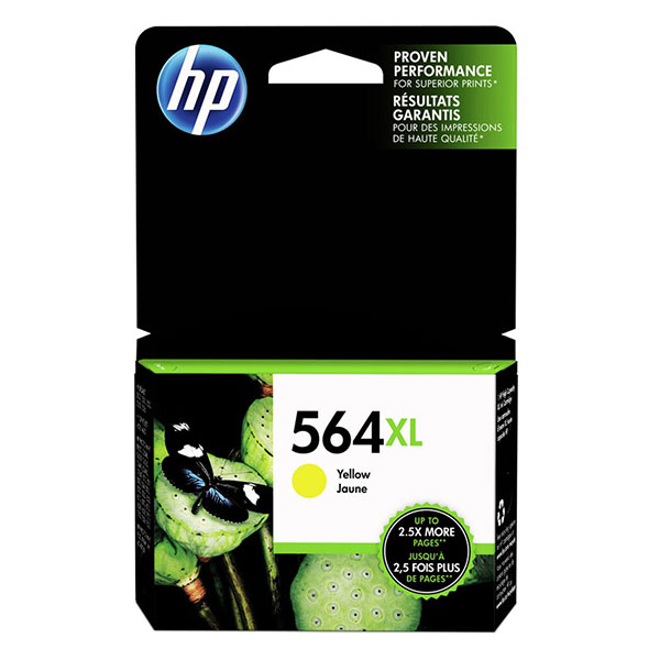 HP 564XL Yellow High Yield Ink Cartridge CB325WN