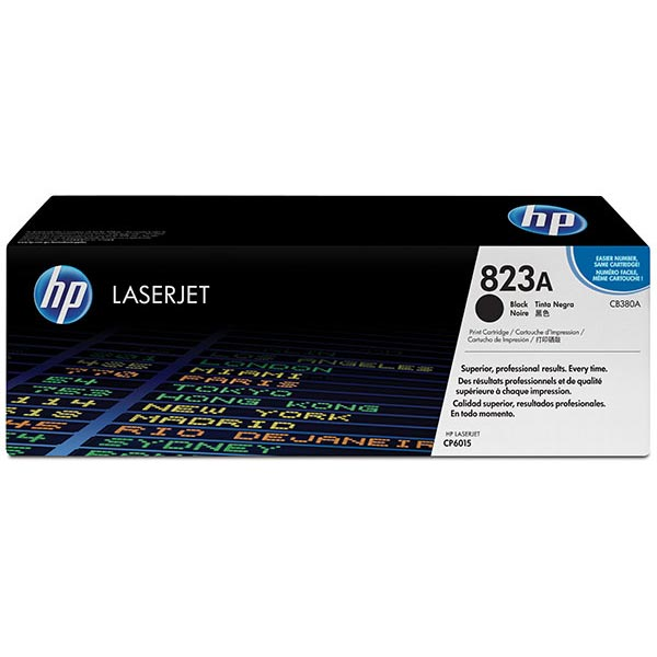 HP 823A Black Toner Cartridge CB380A