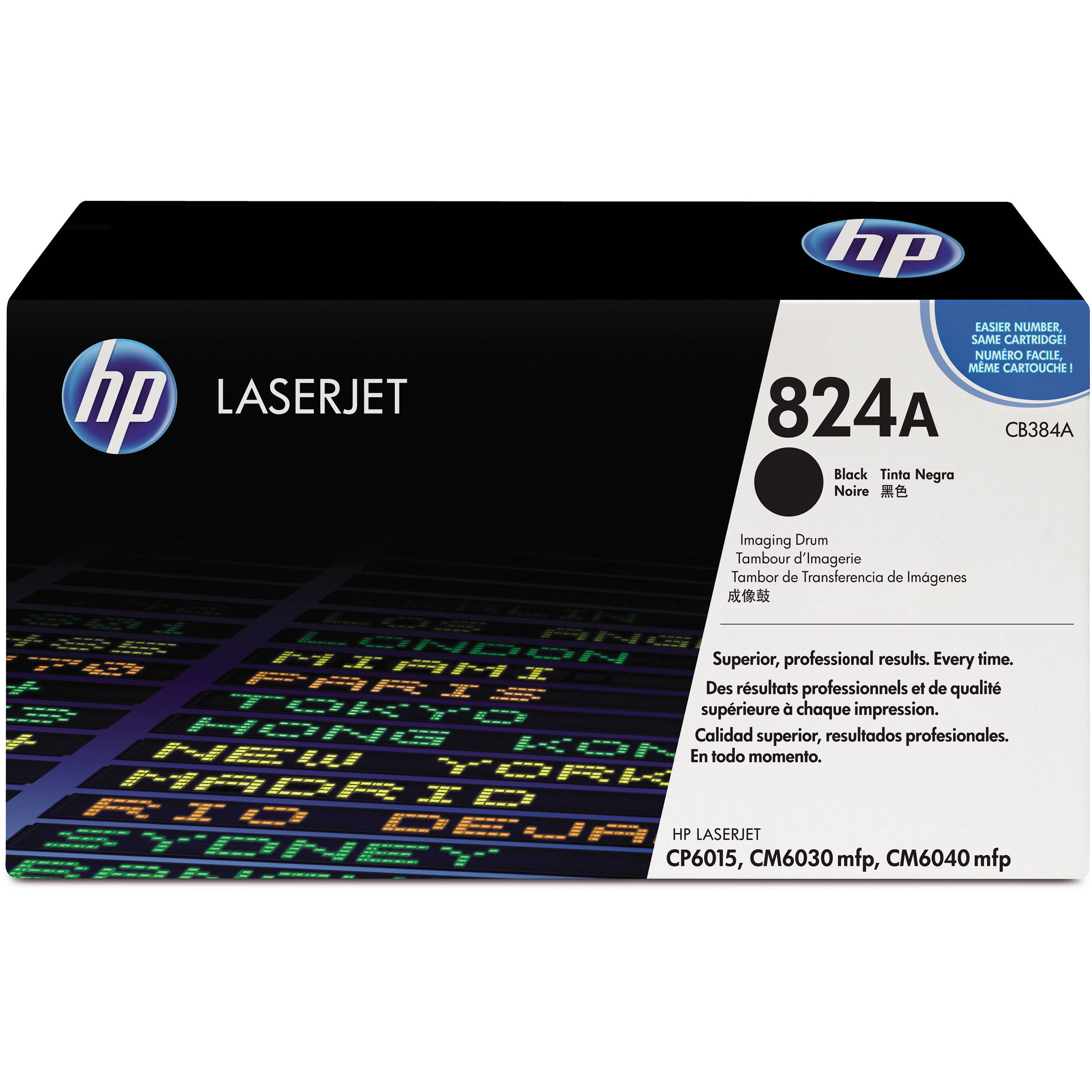 HP 824A Black Image Drum CB384A