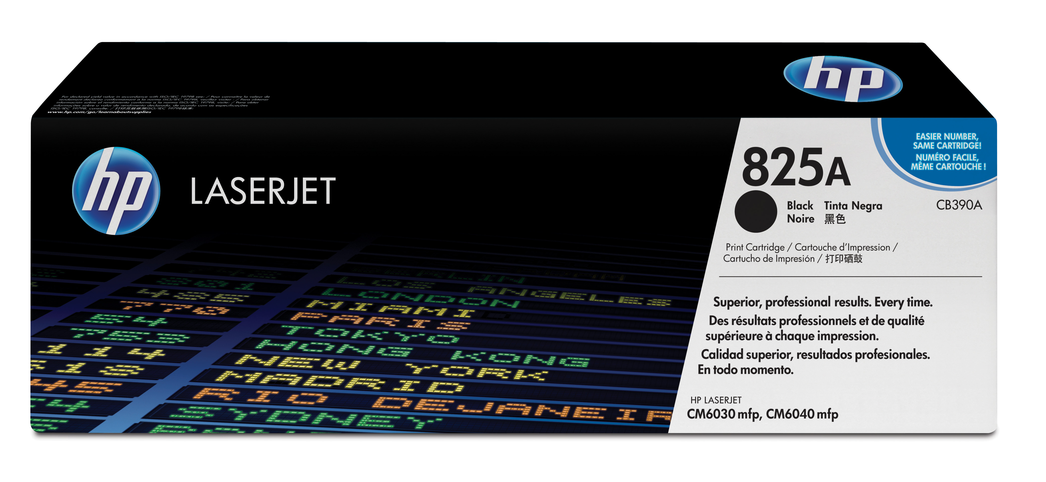 HP 825A Black Toner Cartridge CB390A