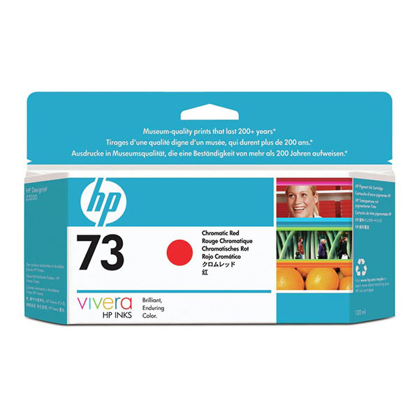HP 73 Chromatic Red Ink Cartridge CD951A