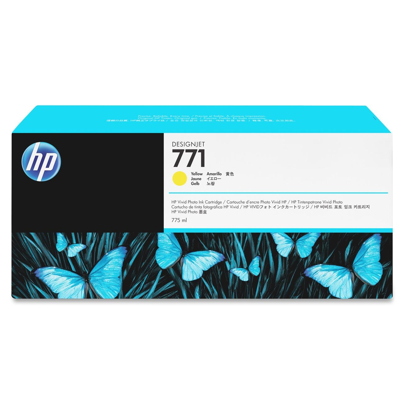 HP 771 Yellow Ink Cartridge CE040A