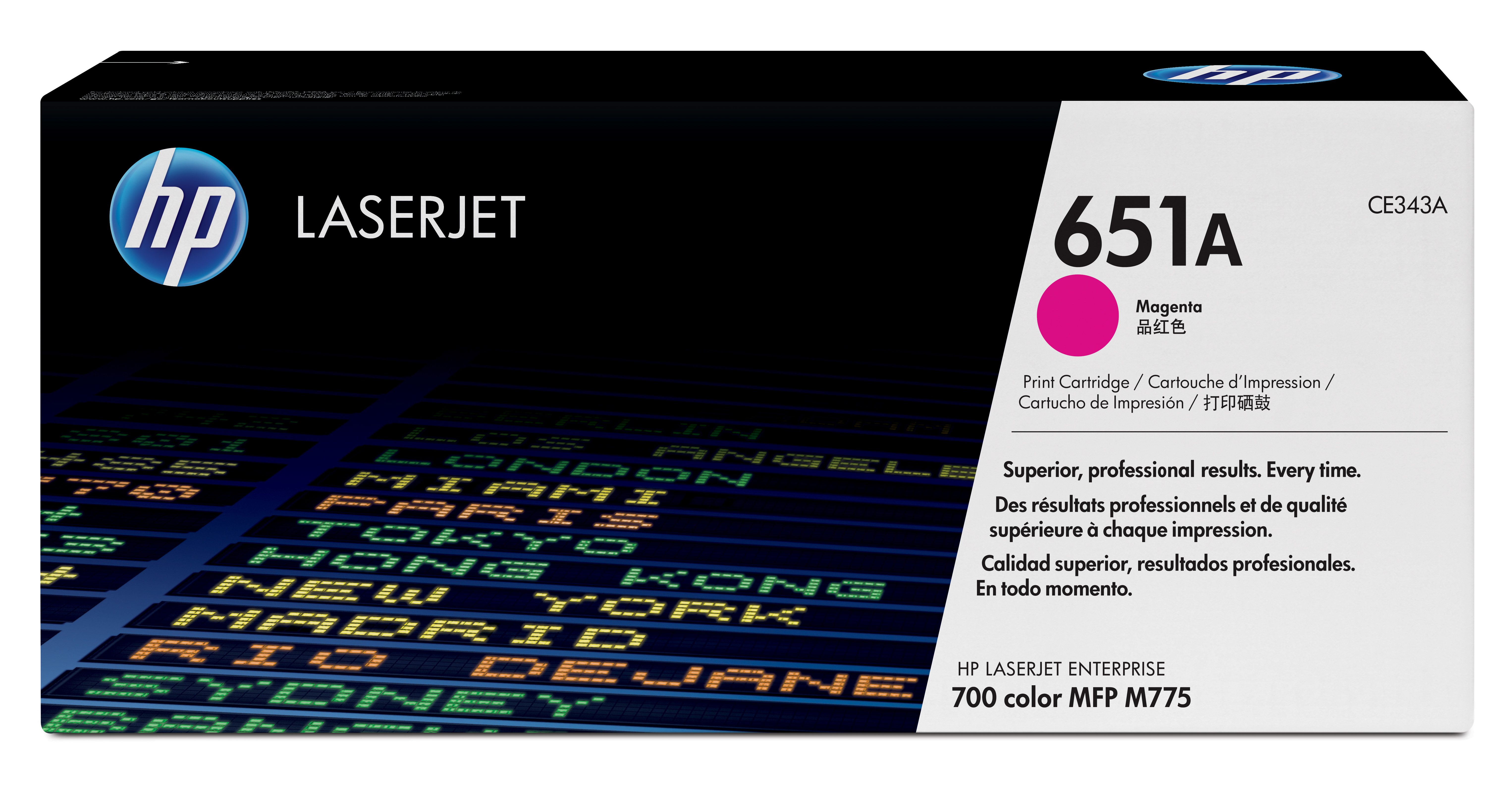 HP 651A Magenta Toner Cartridge CE343A