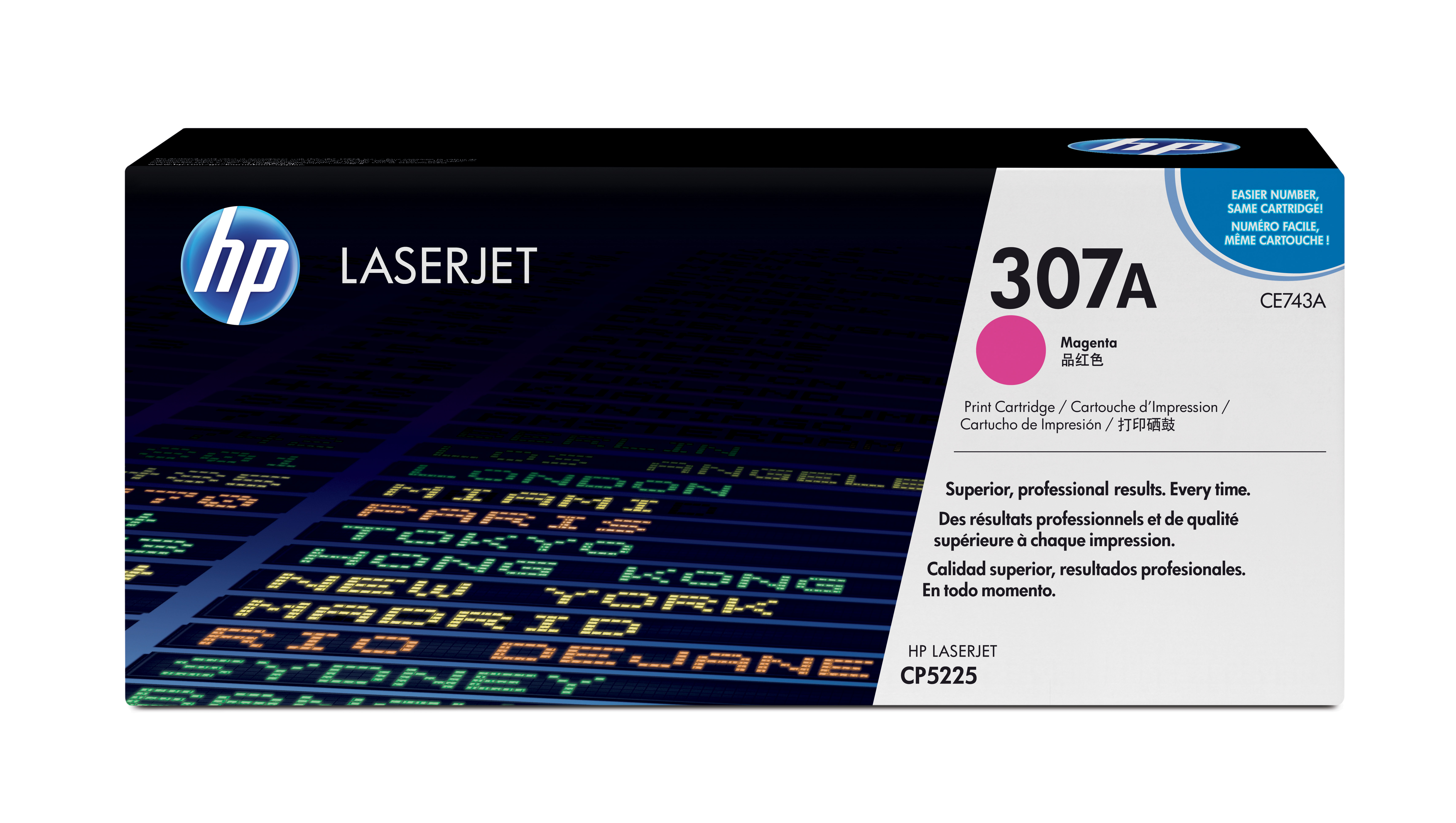 HP 307A Magenta Toner Cartridge CE743A