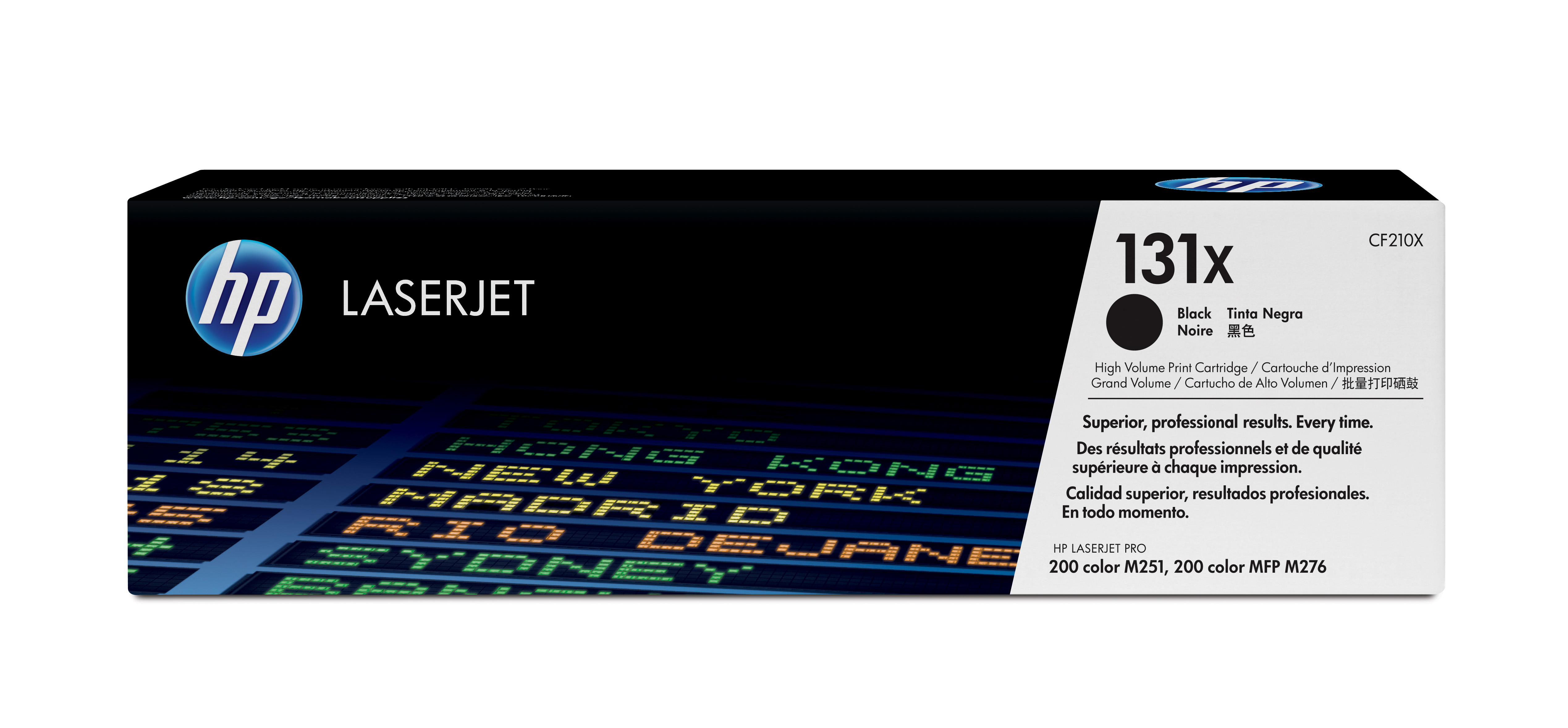 HP 131X Black High Yield Toner Cartridge CF210X