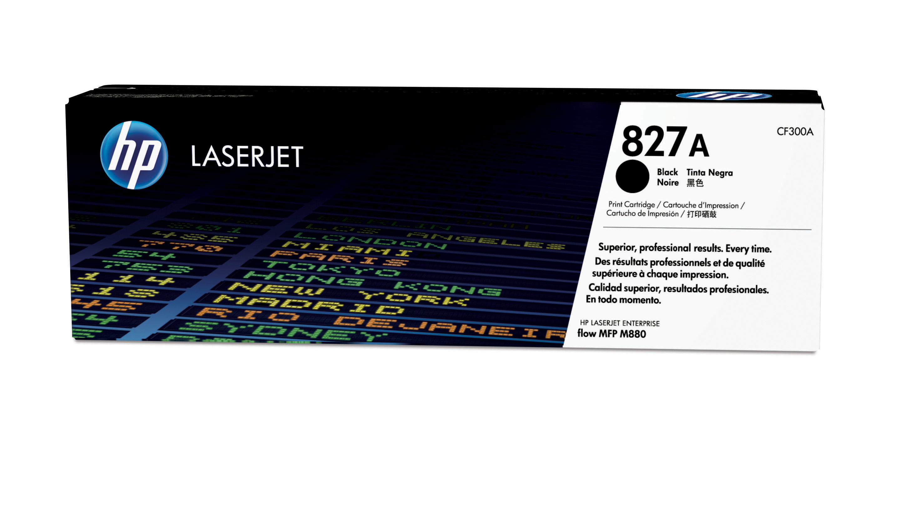 HP 827A Black Toner Cartridge CF300A