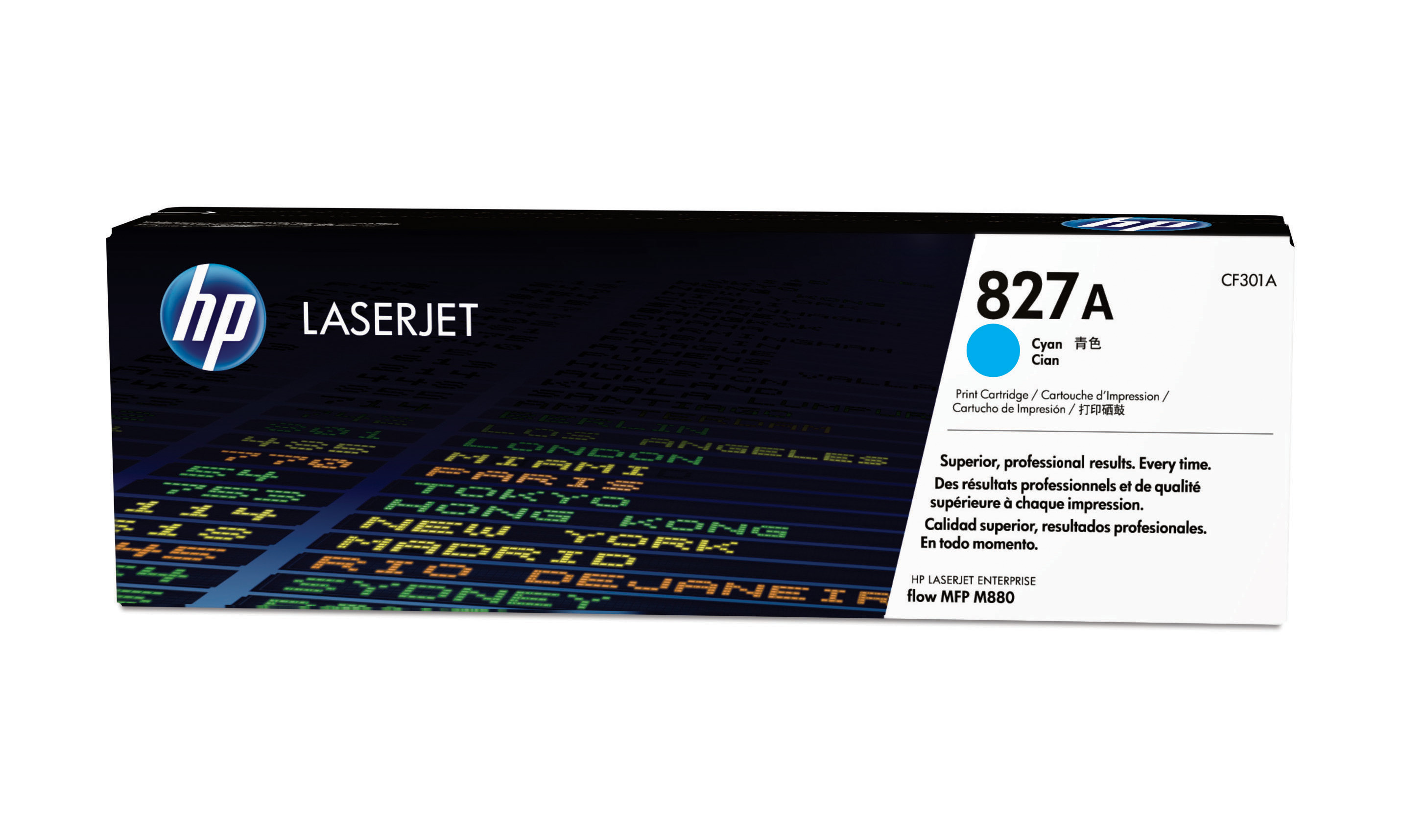 HP 827A Cyan Toner Cartridge CF301A