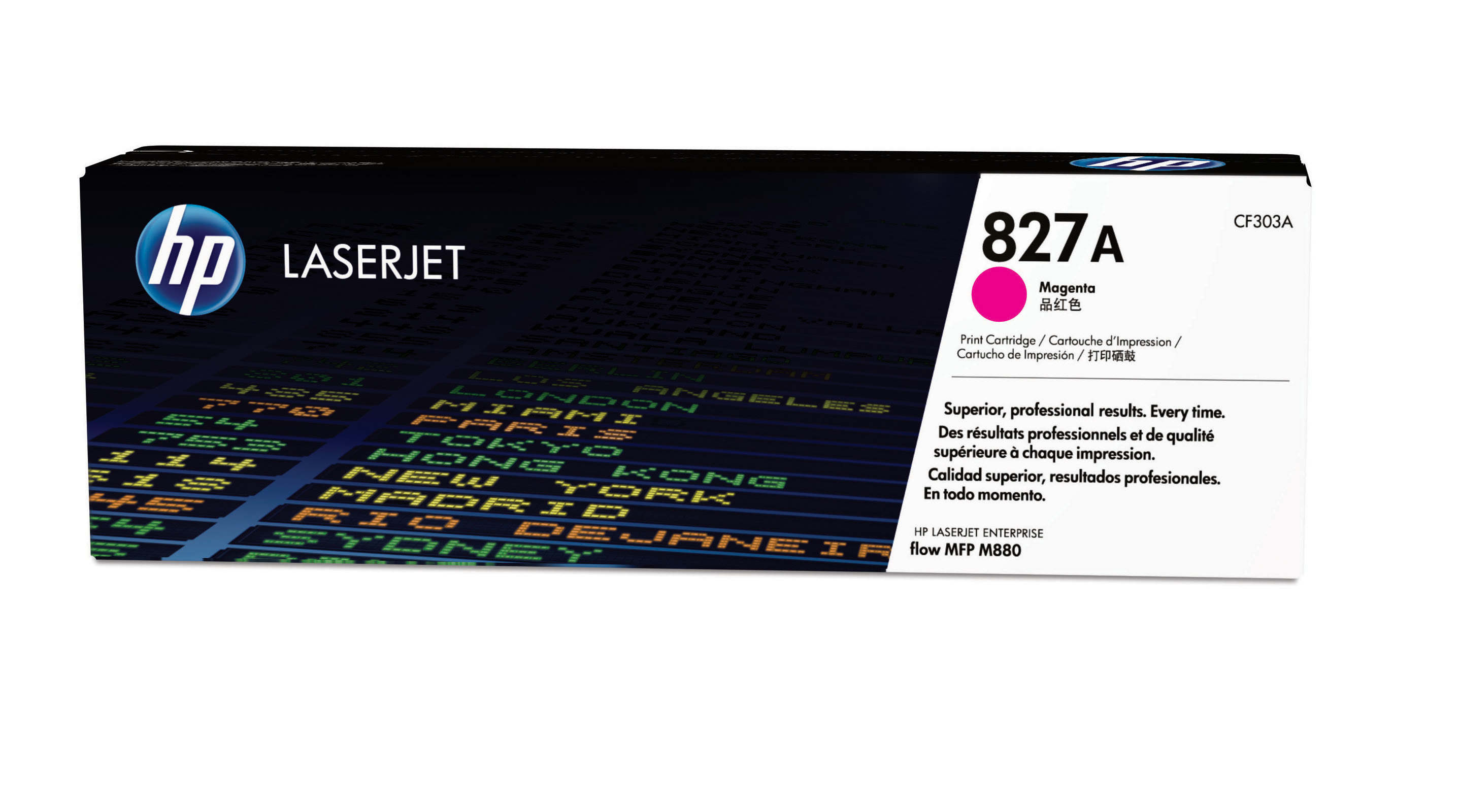 HP 827A Magenta Toner Cartridge CF303A