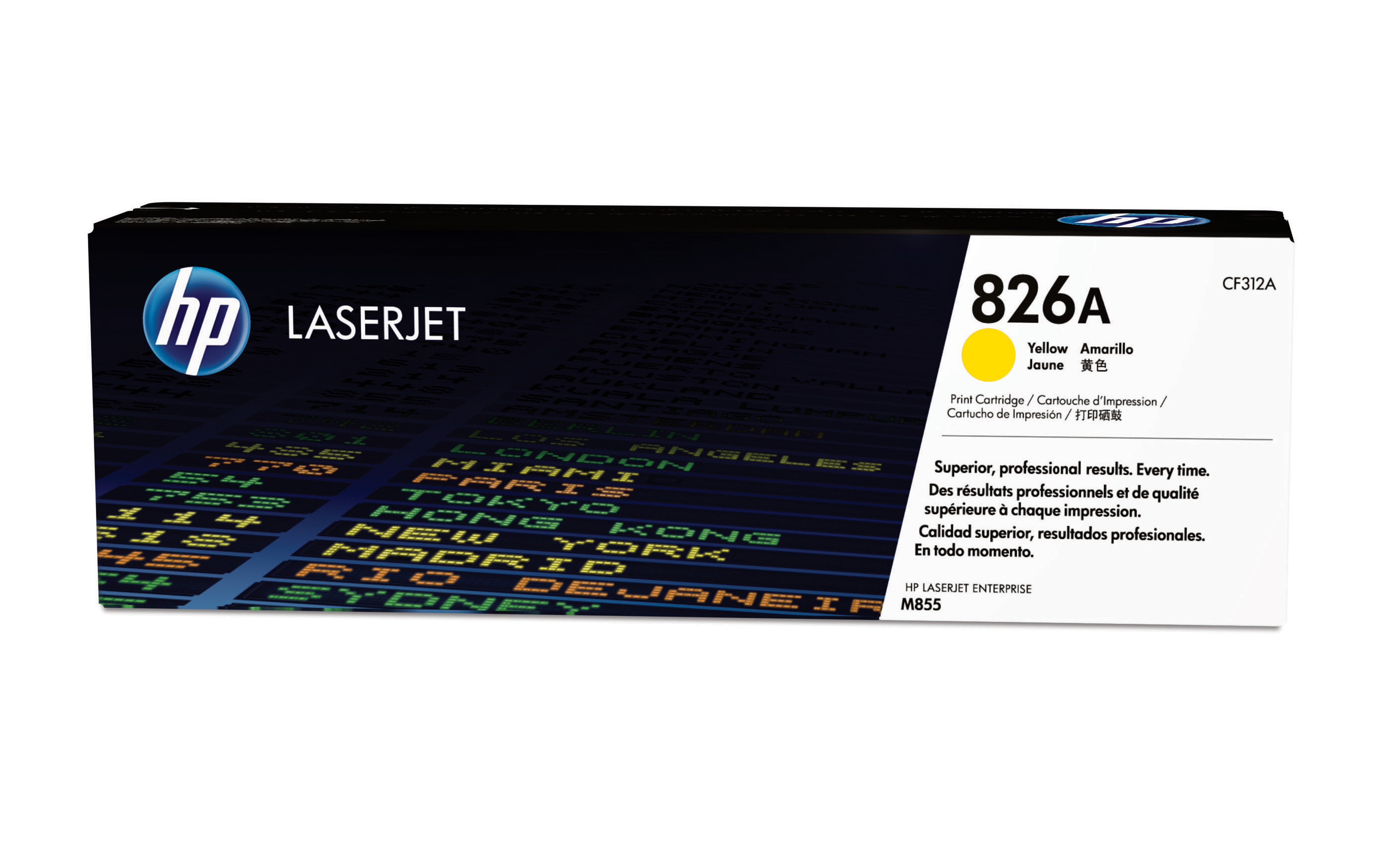HP 826A Yellow Toner Cartridge (CF312A)