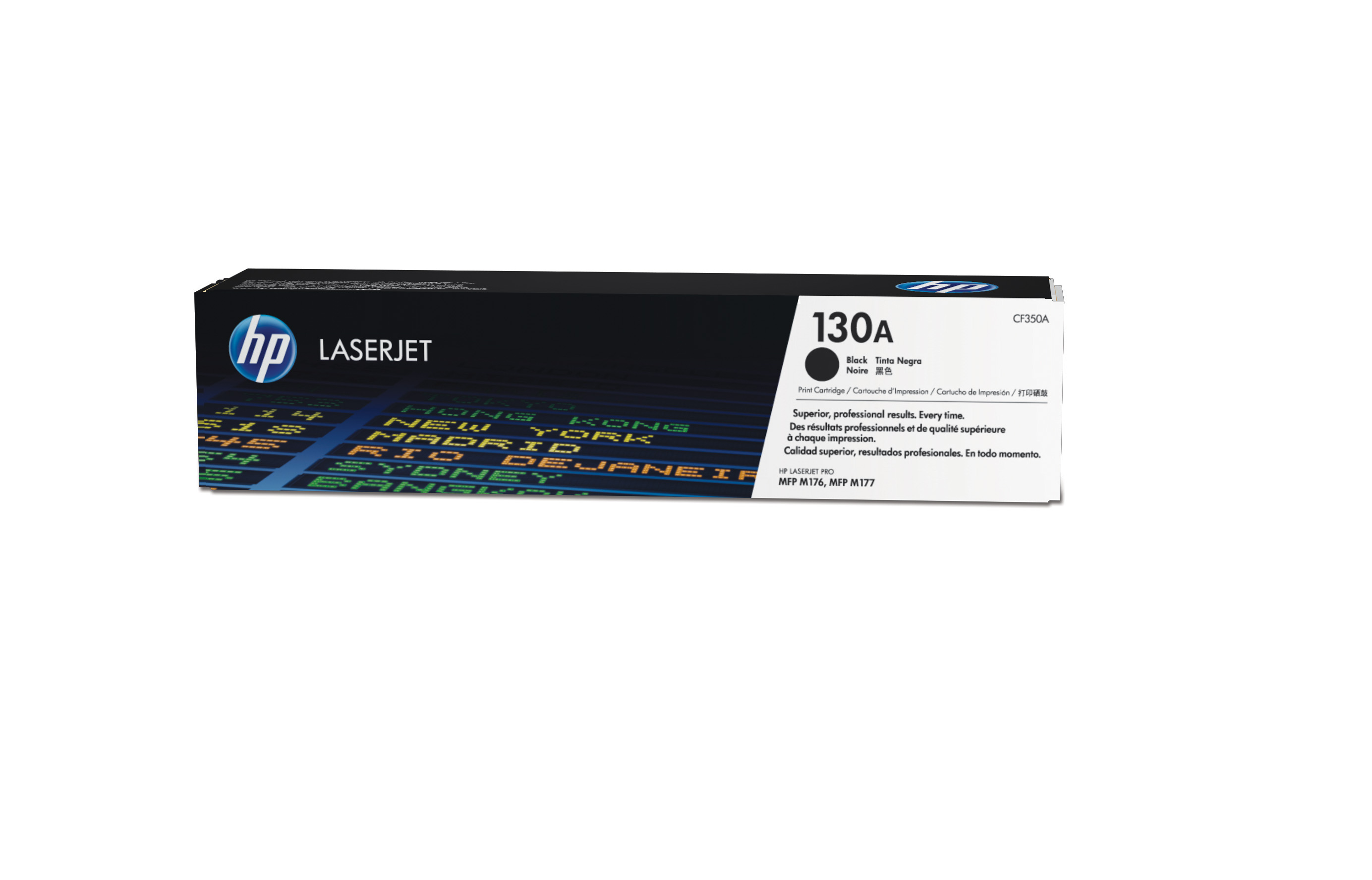 HP 130A Black Toner Cartridge CF350A