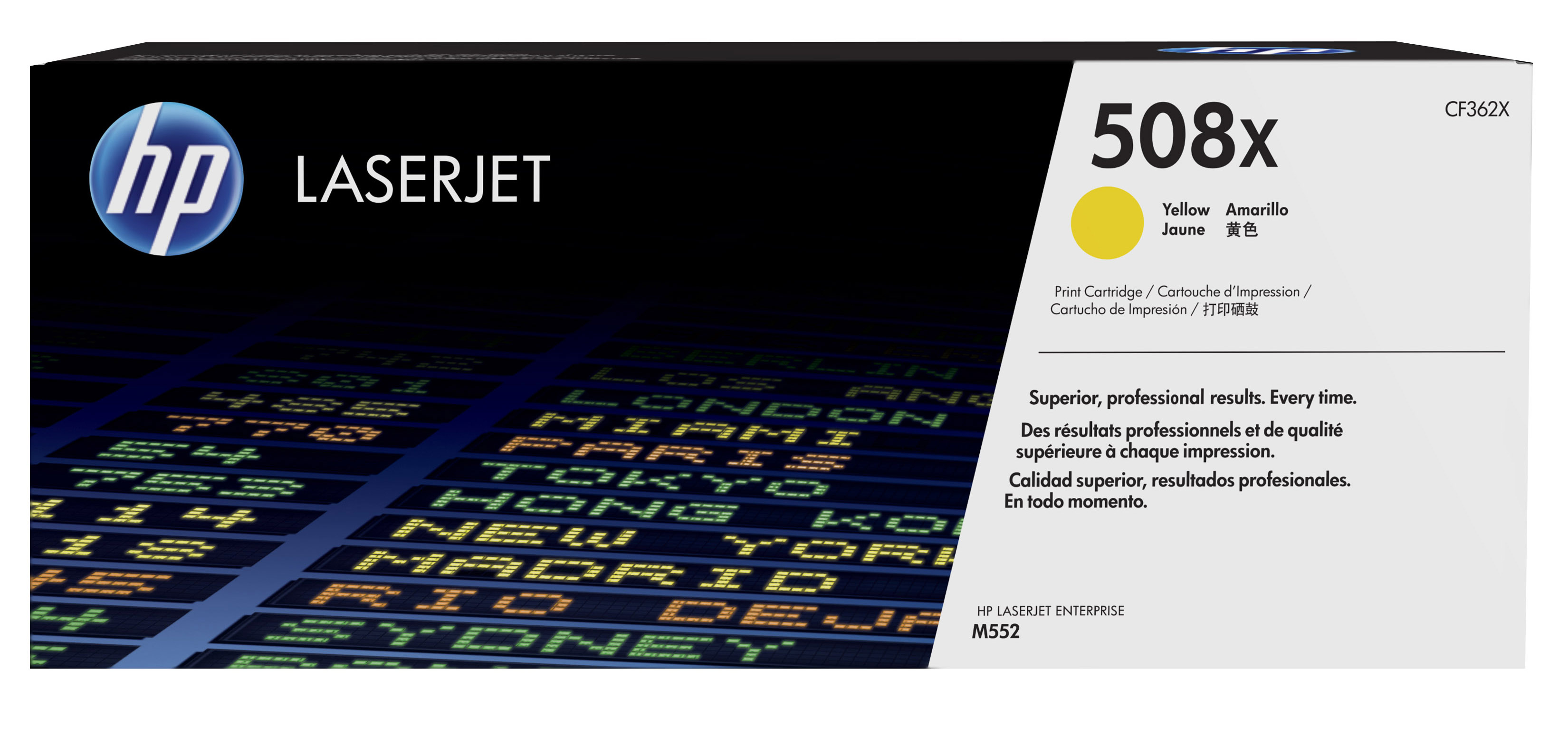 HP 508X Yellow High Yield Toner Cartridge CF362X