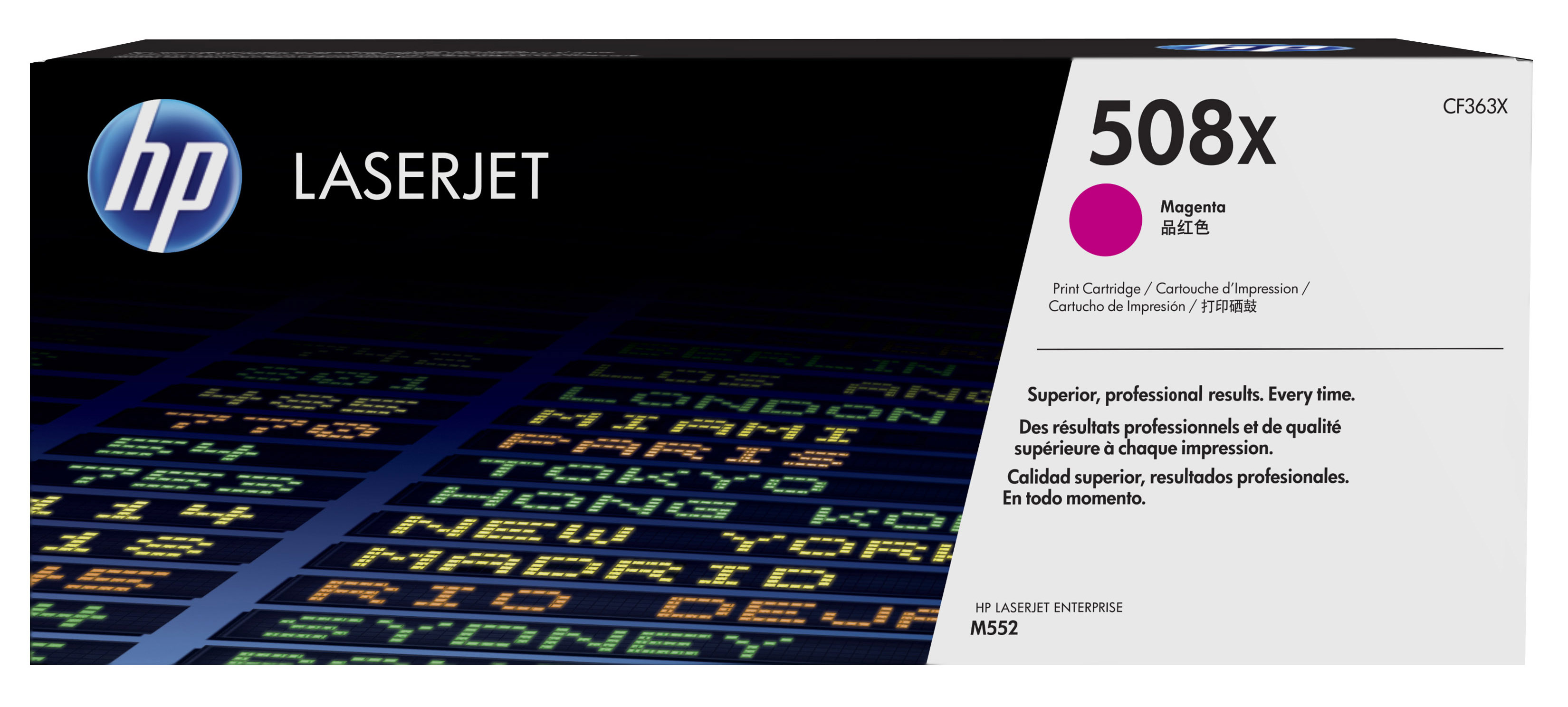 HP 508X Magenta High Yield Toner Cartridge CF363X