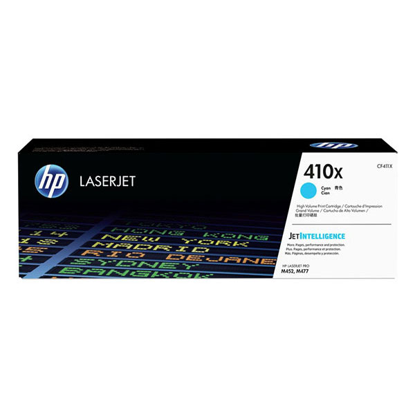 HP 410X Cyan High Yield Toner Cartridge CF411X