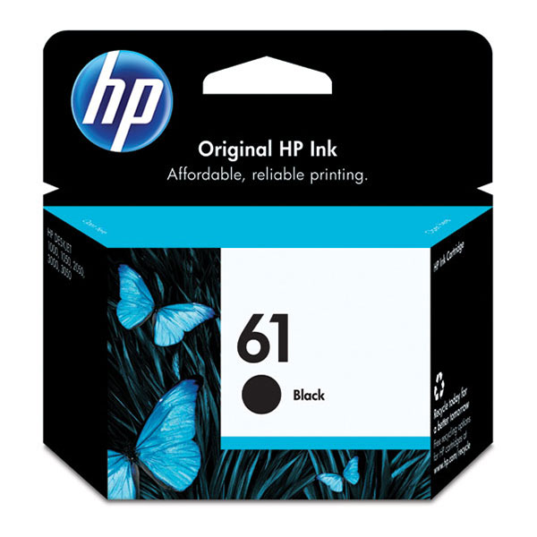 HP 61 Black Ink Cartridge CH561WN