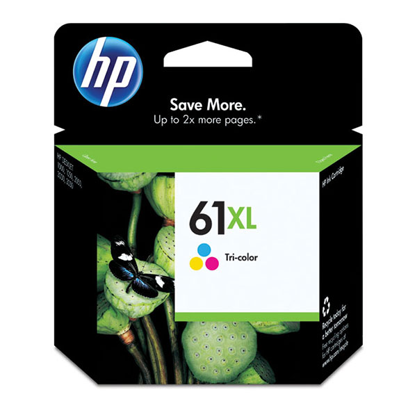 HP 61XL Tri-Color High Yield Ink Cartridge CH564WN