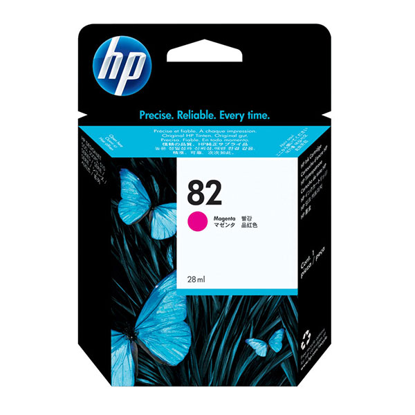 HP 82 Magenta Ink Cartridge CH567A