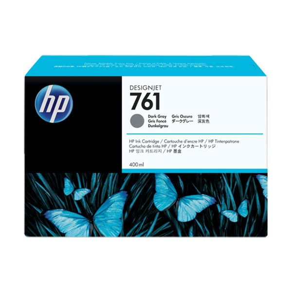 HP 761 Dark Gray Ink Cartridge CM996A