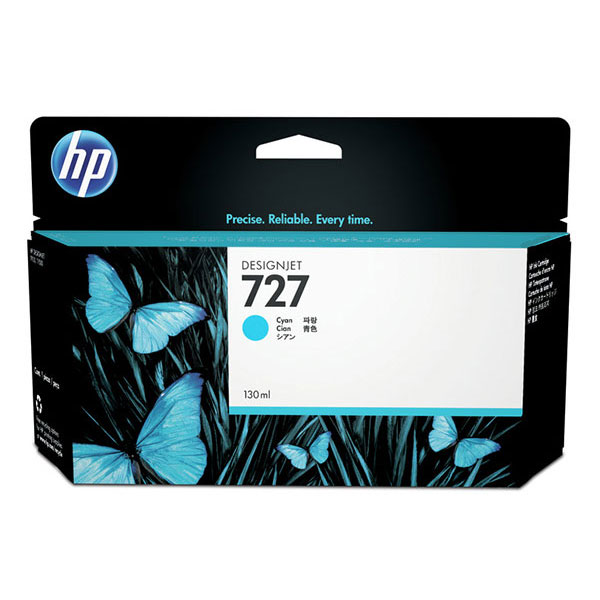 HP 727 Cyan DesignJet Ink Cartridge F9J76A